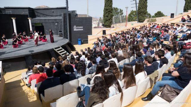 Mas de tres mil alumnos disfrutaran del XXII Festival de Teatro Grecolatino que tendra lugar los dias 29 y 30 de marzo en el Auditorio Parque Torres - 1, Foto 1