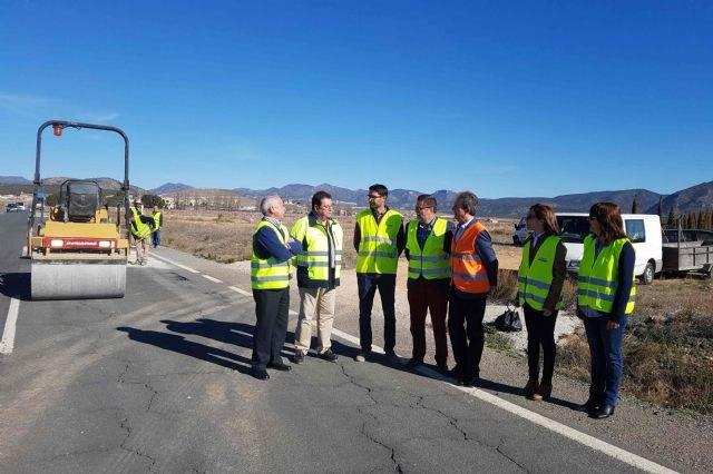 Fomento realiza obras de conservación en 30 carreteras que discurren por Caravaca de la Cruz, Moratalla, Calasparra y Cehegín - 1, Foto 1