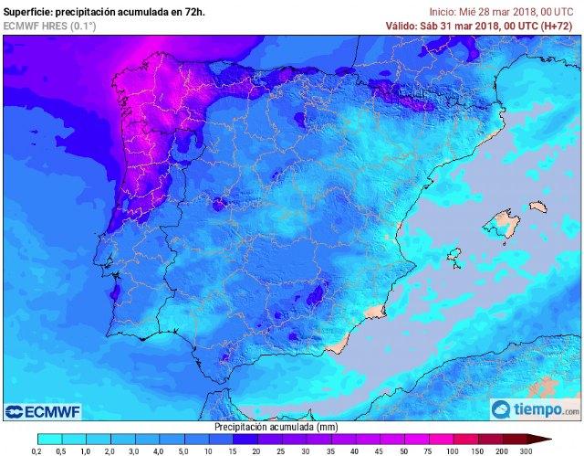 Protección Civil Totana informa que habrá tranquilidad meteorológica en la recta final de la Semana Santa - 1, Foto 1
