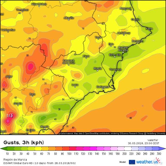 Protección Civil Totana informa que habrá tranquilidad meteorológica en la recta final de la Semana Santa - 2, Foto 2