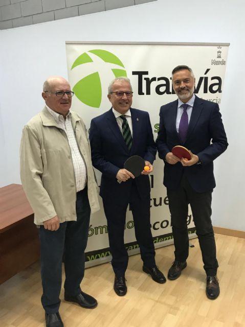 Tranvía de Murcia patrocina al Club Deportivo Murcia Tenis de Mesa - 1, Foto 1
