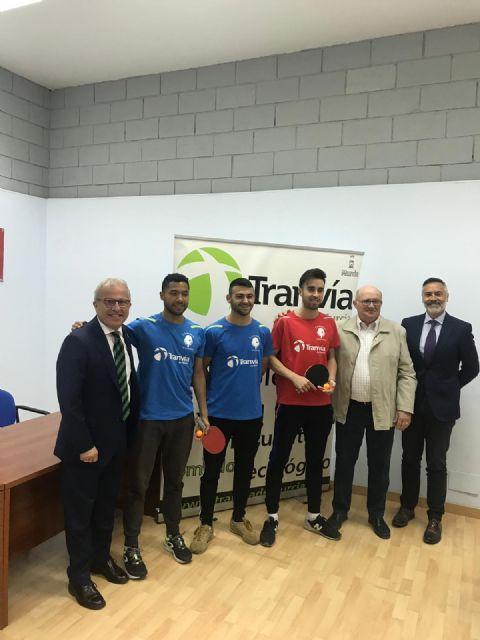 Tranvía de Murcia patrocina al Club Deportivo Murcia Tenis de Mesa - 2, Foto 2