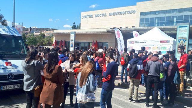 La Universidad de Murcia cierra la campaña de donación de sangre con más de 300 donantes atendidos en una mañana - 3, Foto 3