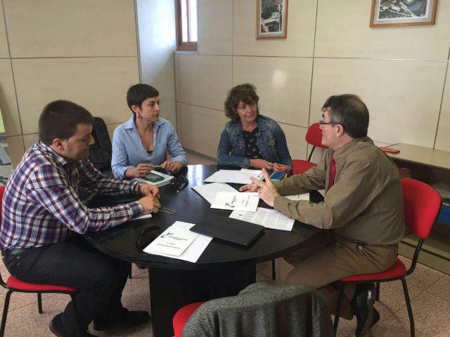 Podemos se reúne con la Comunidad de Regantes de Pliego y conoce in situ para los proyectos para el  regadío - 1, Foto 1
