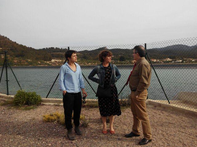 Podemos se reúne con la Comunidad de Regantes de Pliego y conoce in situ para los proyectos para el  regadío - 2, Foto 2