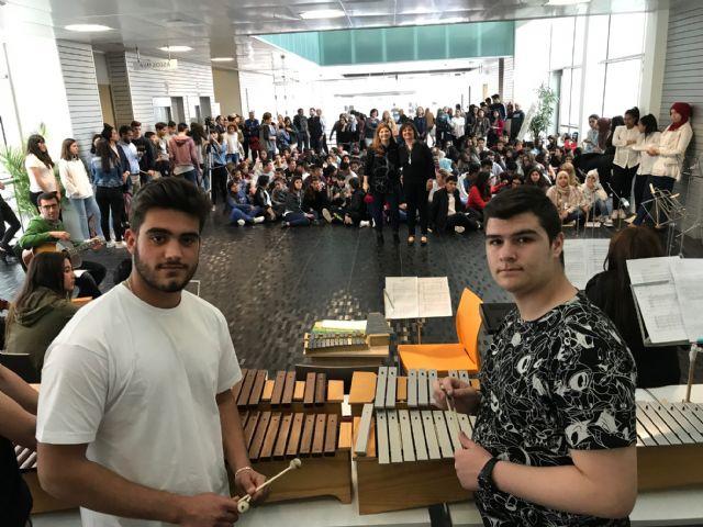 El IES Gerardo Molina conquista el hall del Ayuntamiento de Torre-Pacheco Musiqueando - 3, Foto 3