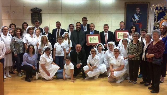 El Ayuntamiento realiza un reconocimiento institucional a la Hospitalidad de Lourdes y su delegaci�n en Totana con motivo de su 50 aniversario, y coincidiendo con el Año Jubilar Hospitalario (1969-2018), Foto 2