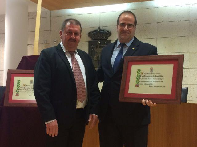 El Ayuntamiento realiza un reconocimiento institucional a la Hospitalidad de Lourdes y su delegaci�n en Totana con motivo de su 50 aniversario, y coincidiendo con el Año Jubilar Hospitalario (1969-2018), Foto 3