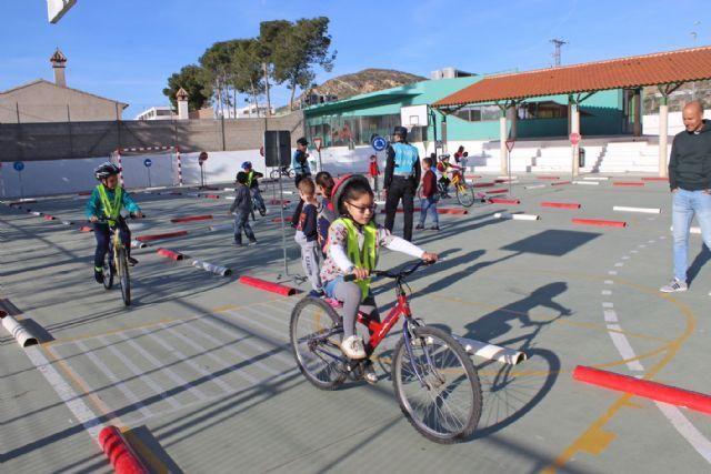 Los alumnos de Infantil y Primaria de Puerto Lumbreras pueden formarse en Educación Vial desde casa a través de la web municipal - 1, Foto 1