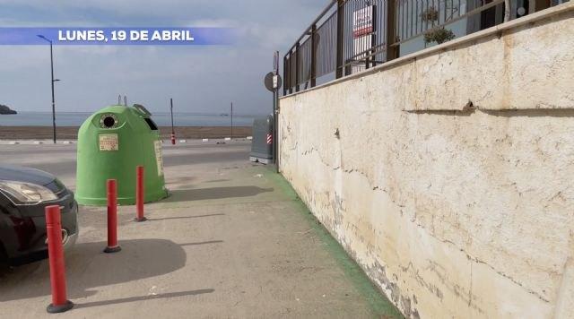 El PP solicita al Gobierno de Moreno que retiren los contenedores del cauce de la Rambla de las Culebras en su desembocadura - 1, Foto 1