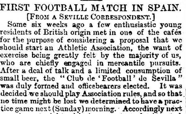 El 8 de marzo de 1890 acogió el primer partido de fútbol disputado en España - 2, Foto 2
