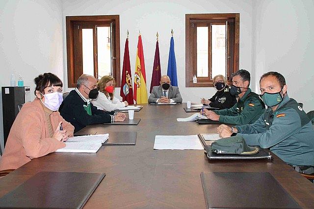 Reunión de la Junta Local de Seguridad de Cieza - 1, Foto 1