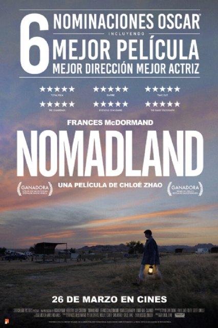 Cine: «Nomaland» – del 1 al 3 de mayo - 1, Foto 1