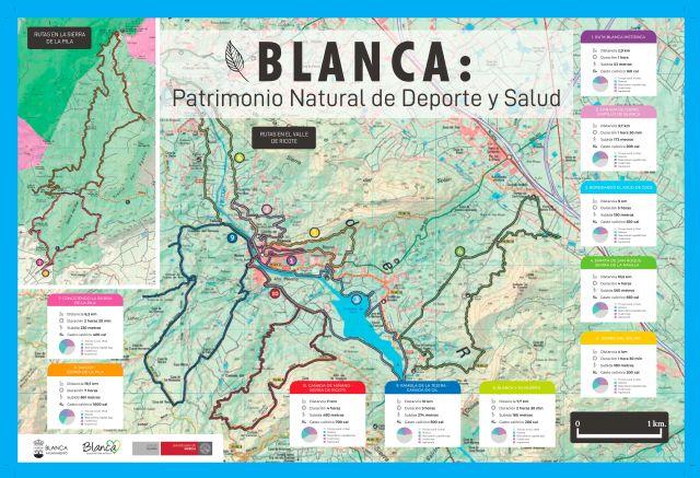 Presentadas las rutas de Blanca, Patrimonio Natural de Deporte y Salud - 1, Foto 1