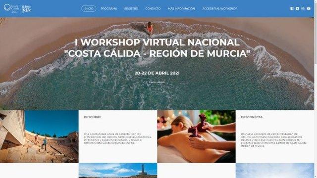 El I Workshop Virtual Costa Cálida-Región de Murcia concluye con 500 citas de negocio - 1, Foto 1