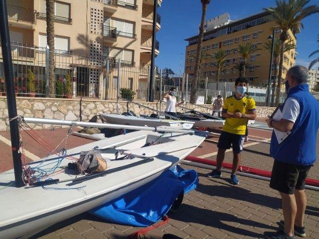 Arranca en Águilas el Nacional ILCA 6-Trofeo Beatriz García - 1, Foto 1