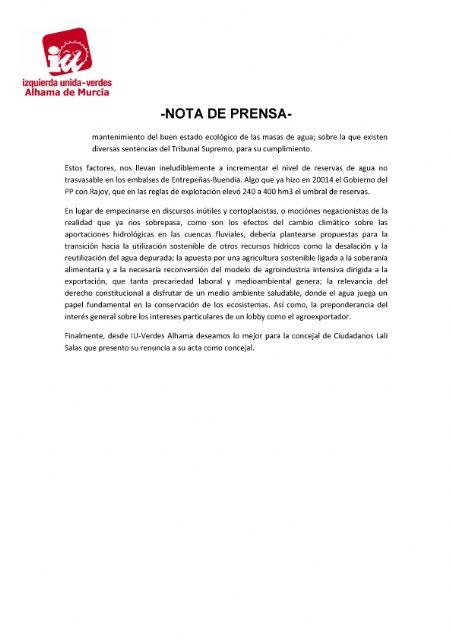 Valoración del Pleno Ordinario del 27 de abril de 2021 - 2, Foto 2