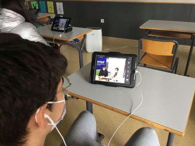 [El colegio Reina Sofía potencia el espíritu cooperativo en sus alumnos participando en el proyecto europeo Coopcamp