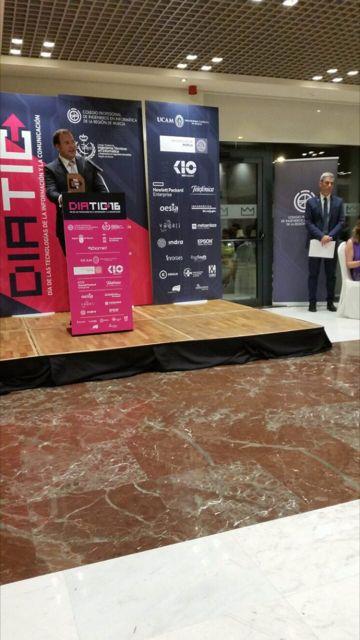 Los Premios DiatTIC 2016 premian el proyecto municipal Smart Murcia en la categoría de mejor proyecto TIC Entidad Local - 2, Foto 2