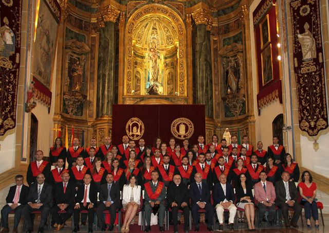 Nueva promoción de graduados en Criminología por la UCAM - 1, Foto 1