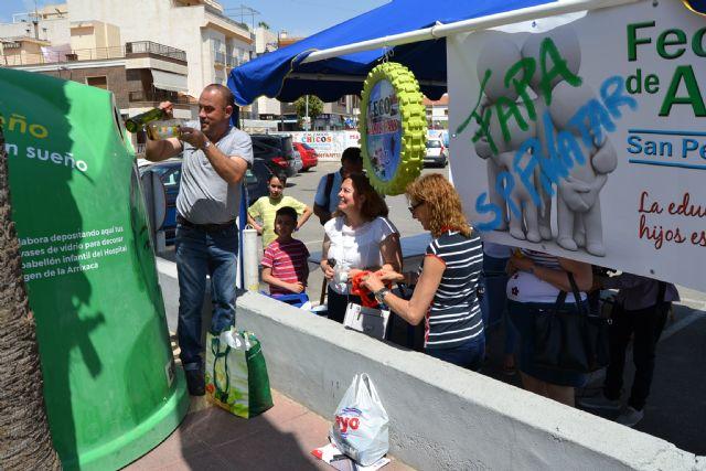 FAPA Pinatar colabora con la campaña solidaria Vidriosueño, luchando por un sueño - 1, Foto 1