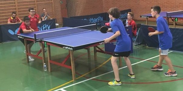 Tenis de mesa. Campeonato autonómico por equipos Región de Murcia