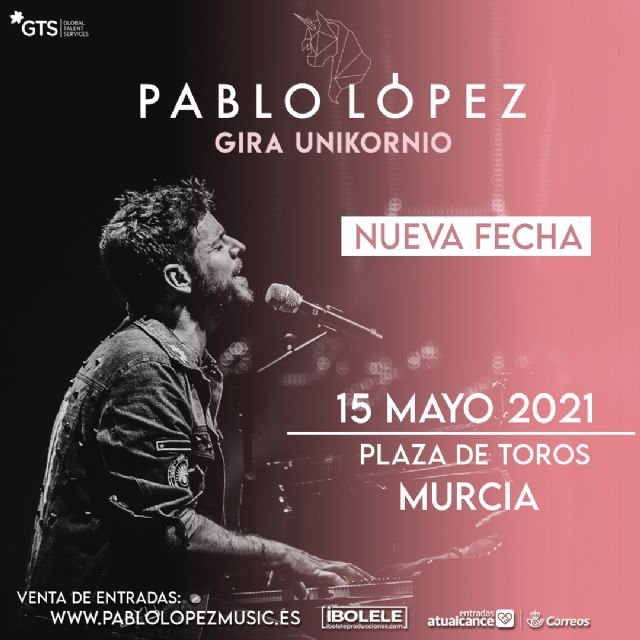 Pablo López aplaza la gira Unikornio a 2021 - 1, Foto 1