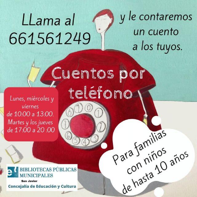 Las bibliotecas de San Javier incrementan su actividad a través de las redes sociales - 1, Foto 1