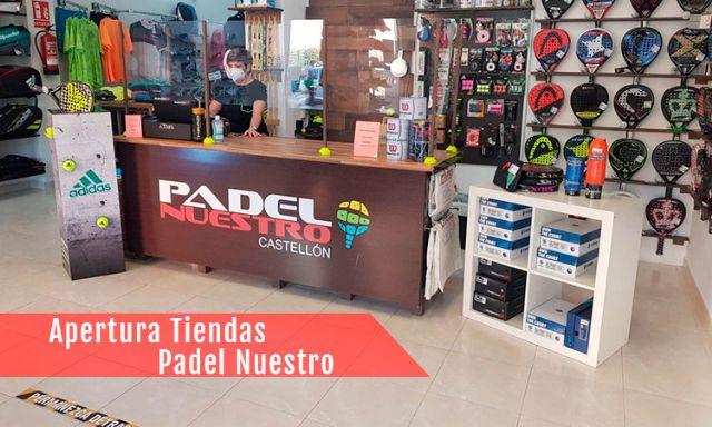 Las tiendas Padel Nuestro vuelven a la actividad tras la cuarentena - 1, Foto 1