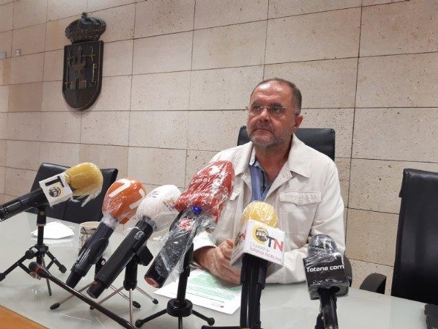 La Comunidad Autónoma solicitará mañana al Ministerio de Sanidad que Totana pase a