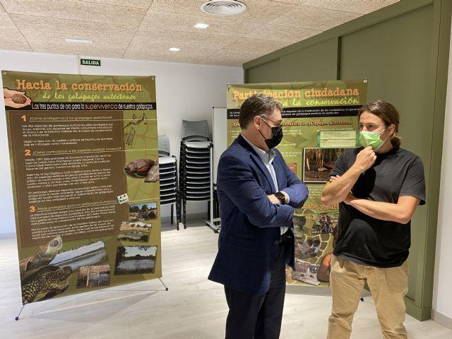 El Centro de Visitantes de La Contraparada acoge a partir de este sábado una exposición sobre galápagos autóctonos - 2, Foto 2