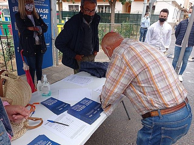 El PP recoge firmas en Alquerías en defensa del trasvase Tajo-Segura - 3, Foto 3