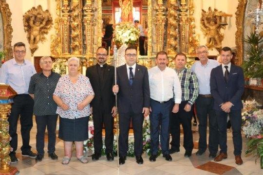 On June 10, the new Steward of La Santa, Francisco José Miras Martínez took office