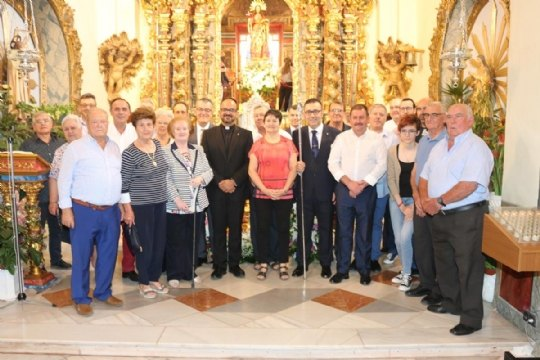 On June 10, the new Steward of La Santa, Francisco José Miras Martínez took office - 2