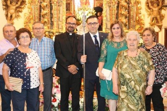 On June 10, the new Steward of La Santa, Francisco José Miras Martínez took office - 3