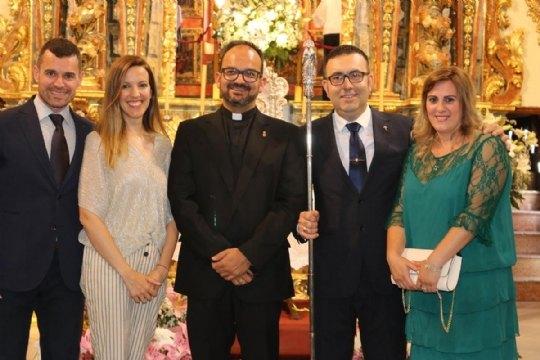 On June 10, the new Steward of La Santa, Francisco José Miras Martínez took office - 4