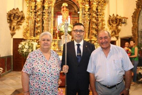 On June 10, the new Steward of La Santa, Francisco José Miras Martínez took office - 5