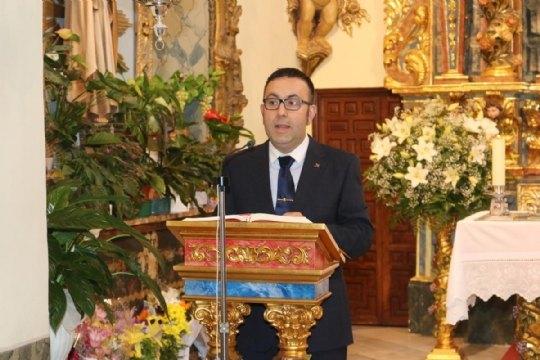 On June 10, the new Steward of La Santa, Francisco José Miras Martínez took office - 6