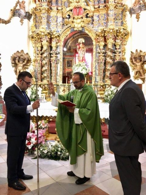 On June 10, the new Steward of La Santa, Francisco José Miras Martínez took office - 7