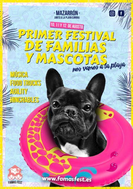 El primer gran festival de familias con mascotas llega a Mazarrón en agosto, Foto 2