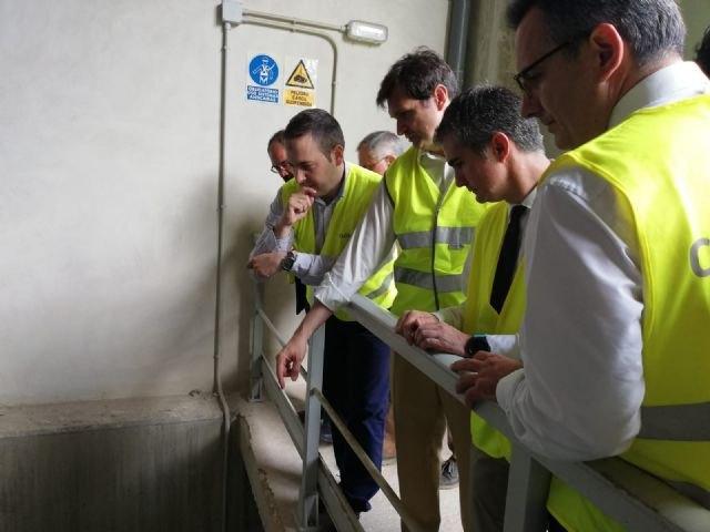 El Gobierno regional plantea interconectar las desaladoras tras la rotura de la planta de Águilas