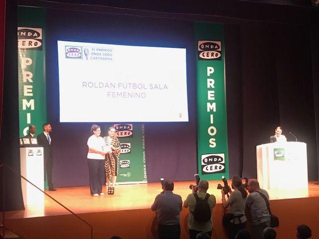 Fútbol Sala Femenino Roldán, premio Onda Cero Cartagena 2019 - 4, Foto 4