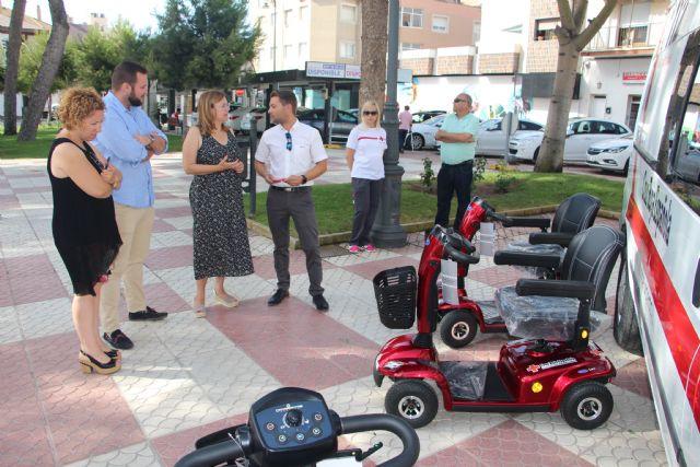 El Ayuntamiento subvenciona la ampliación del banco ortoprotésico de Cruz Roja - 1, Foto 1