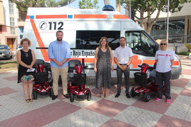 El Ayuntamiento subvenciona la ampliación del banco ortoprotésico de Cruz Roja - 2, Foto 2