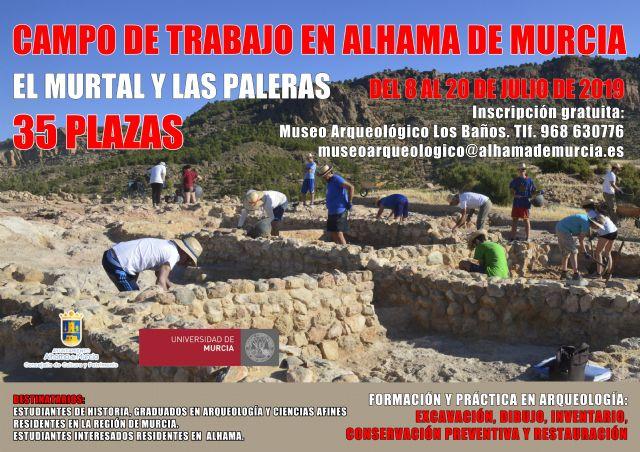 Abierto el plazo de inscripción para el campo de trabajo en El Murtal y Las Paleras