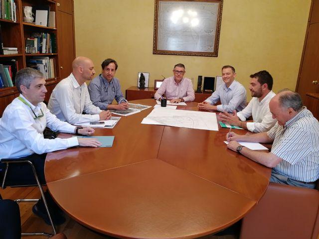 El presidente de la CHS, Mario Urrea, se reúne con el nuevo alcalde de Abarán, Jesús Gómez - 1, Foto 1