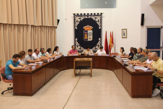 Se celebra el primer pleno de la nueva legislatura en el Ayuntamiento de Puerto Lumbreras - 2, Foto 2