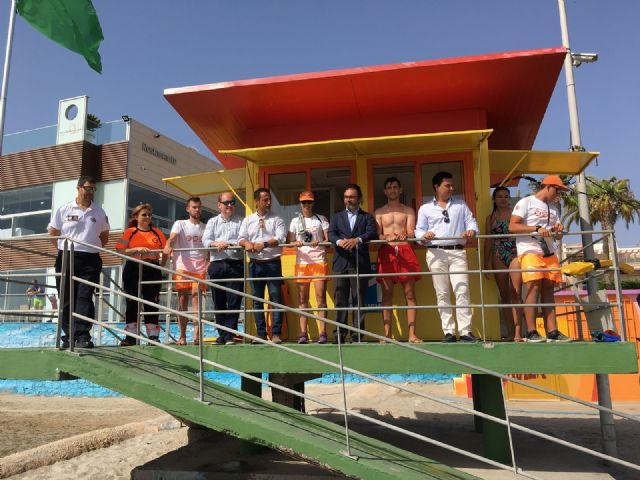 Las playas de Santiago de la Ribera y La Manga suman la mitad de las asistencias de baño asistido de toda la Región de Murcia - 2, Foto 2