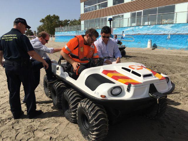 Las playas de Santiago de la Ribera y La Manga suman la mitad de las asistencias de baño asistido de toda la Región de Murcia - 4, Foto 4