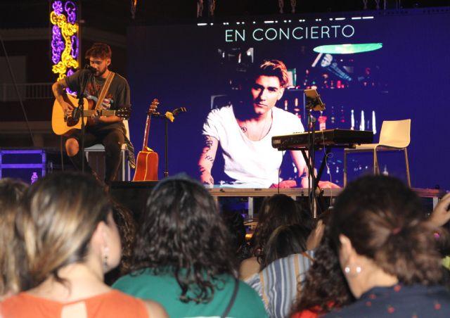 Dani Fernández presentó su primer trabajo en solitario Incendios - 1, Foto 1